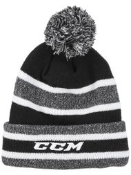 44dc9ba2491 CCM Core Heathered Pom Knit Beanie Senior - Ice Warehouse
