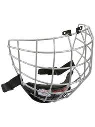 77a9f5ffa63 CCM FitLite FL40 Silver Hockey Helmet Cage - Ice Warehouse