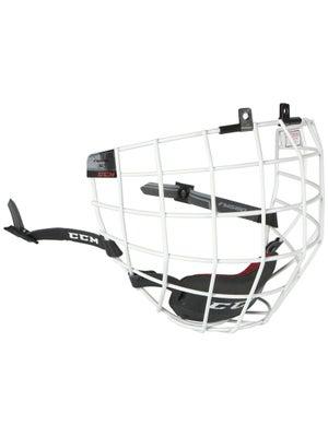 CCM FM580 White Hockey Helmet Cage
