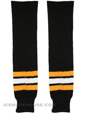 Ccm S100p Knit Hockey Socks Boston Bruins
