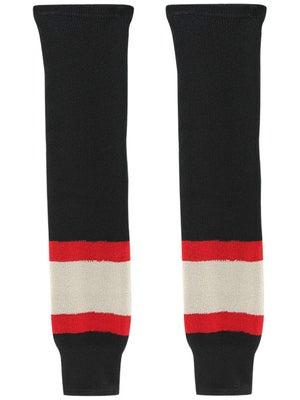 Ccm S100p Knit Hockey Socks Chicago Blackhawks