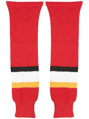Calgary Flames CCM Ice Hockey Socks Jr