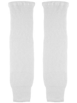 CCM White Ice Hockey Socks Sr