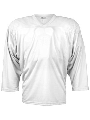 CCM 10200 Practice Hockey Jersey White Jr