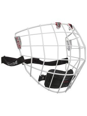 CCM Resistance 300 White Hockey Helmet Cage