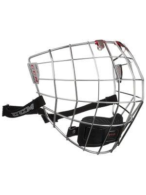 CCM Resistance Chrome Hockey Helmet Cage Small