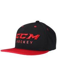 CCM True To Hockey Flat Brim Snapback Hat Senior - Inline Warehouse 3e2a604e29d