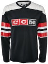 CCM Vintage 3 Block Logo Hockey L/S Shirt