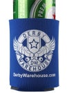 Derby Warehouse Beer Koozie