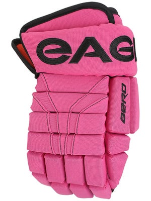 Eagle Aero Pro LE Pink 4 Roll Hockey Gloves Sr 14