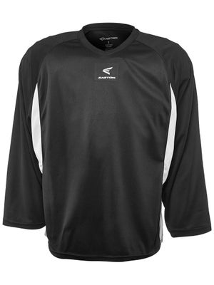 Easton Elite Dry Flow Jersey Black & White Sr