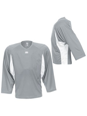 Easton Elite Dry Flow Jersey Grey & White Jr