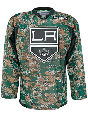 Los Angeles Kings Reebok NHL Camo Jerseys Sr