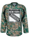 New York Rangers Reebok NHL Camo Jerseys Sr