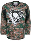 Pittsburgh Penguins Reebok NHL Camo Jerseys Sr