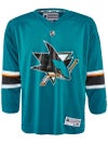 San Jose Sharks Reebok NHL Replica Jerseys Jr & Yth