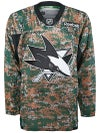 San Jose Sharks Reebok NHL Camo Jerseys Sr
