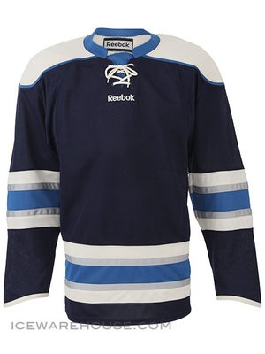Columbus Blue Jackets Reebok Edge Uncrested Jerseys Sr