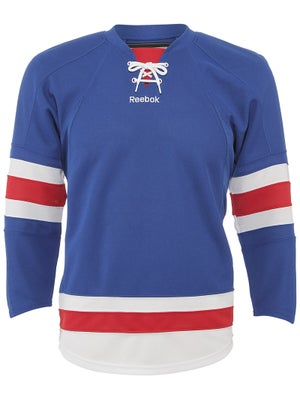 New York Rangers Reebok Edge Uncrested Jerseys Sr