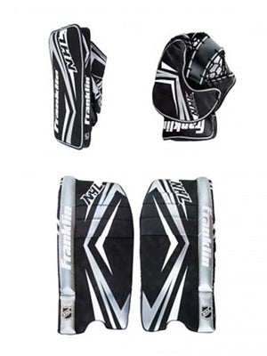 Franklin Comp 100 Street Hockey Goalie Set Jr 24