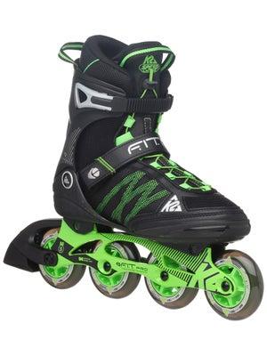 K2 FIT 84 Pro Inline Skates Black/Green Men's