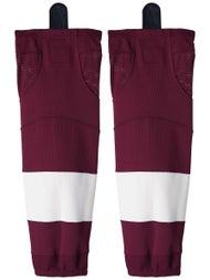 2ce4285aa0e Firstar Gamewear NHL Hockey Socks - Vancouver Maroon - Ice Warehouse