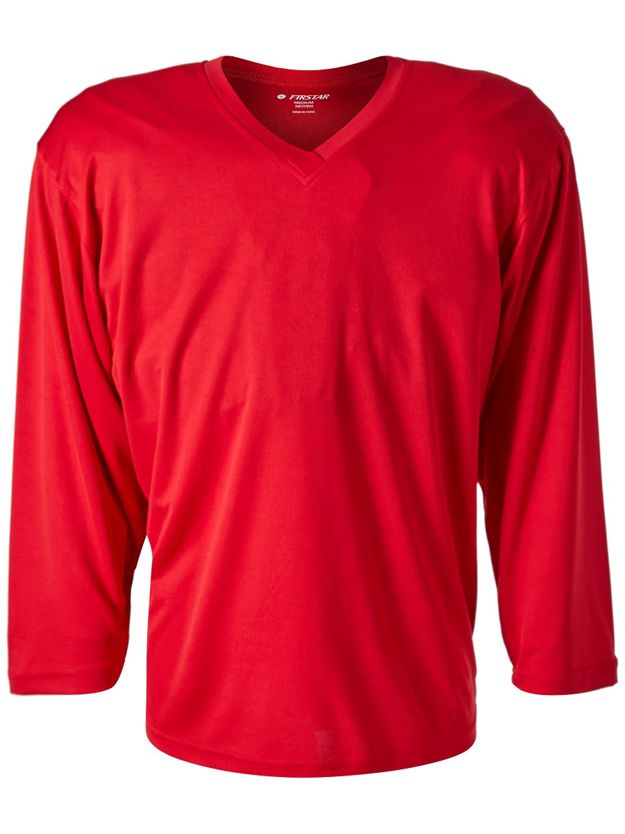 Firstar Arena 2-Tone Hockey Jersey Red//Black