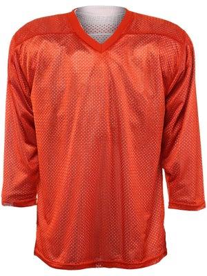 Fulton Reversible Hockey Jersey Orange/White Sr GOALIE