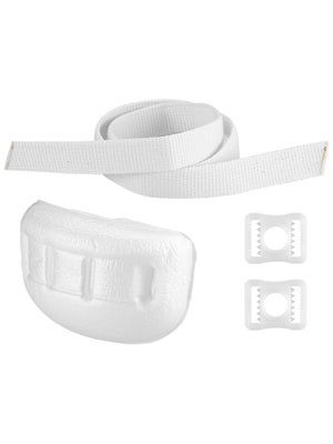 Goalie Mask Chin Cup w/ Straps & Clips