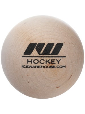 IW Hockey Wood Stickhandling Ball
