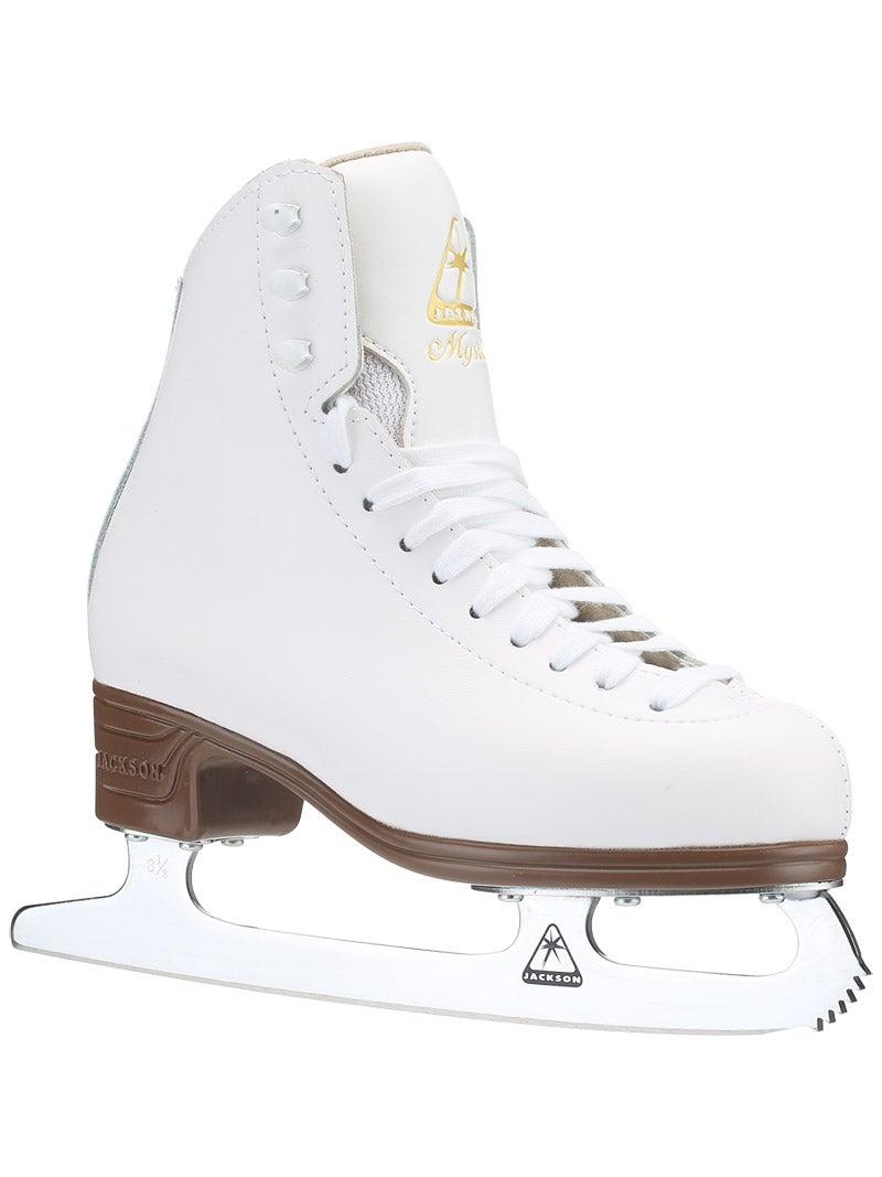 ICE SKATES.WHITE.SHARPENED FOR FREE! JACKSON ARTISTE.FIGURE SKATES.JUNIOR