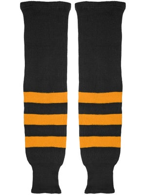 K1 Black & Gold Ice Hockey Socks Jr
