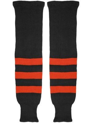 K1 Black & Orange Ice Hockey Socks Sr