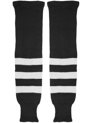 K1 Black & White Ice Hockey Socks Jr