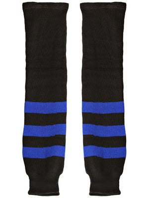 K1 Black & Royal Ice Hockey Socks Jr