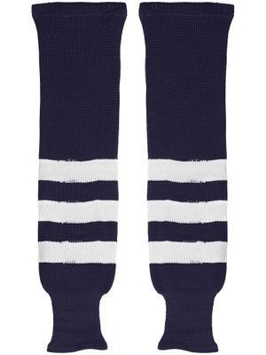 K1 Navy & White Ice Hockey Socks Jr