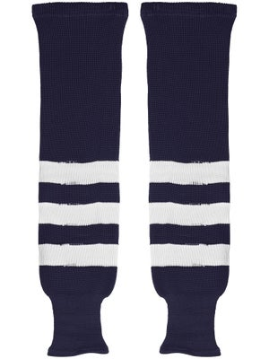 K1 Navy & White Ice Hockey Socks Sr