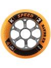 K2 Speed Inline Skate Wheels 100mm 85A 4pk
