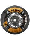 K2 Inline Skate Wheels & Bearings Active 72mm 80A 8pk