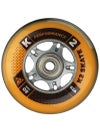 K2 Performance Inline Wheels & Bearings 82A 8pk