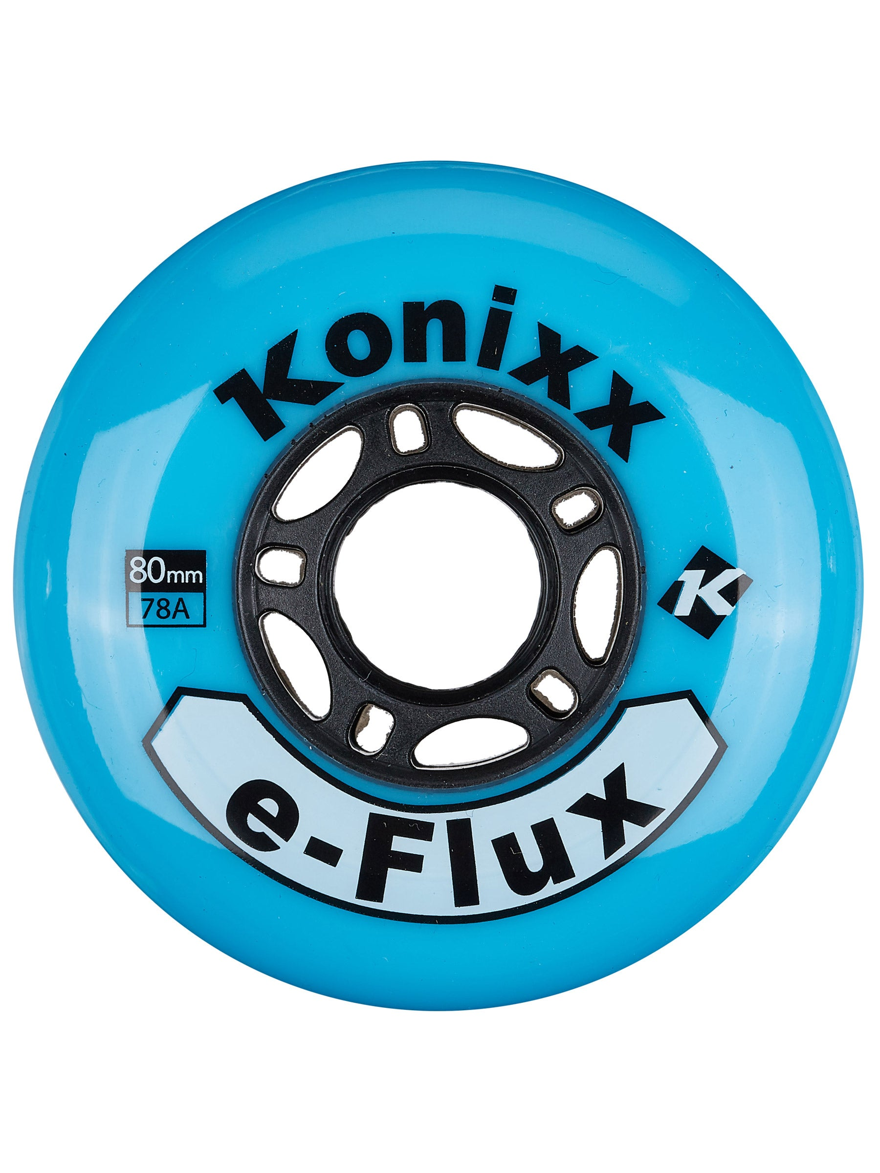 choice Inline Wheels Indoor Clear//Blue 72mm 78a Set of 4 ABEC 9