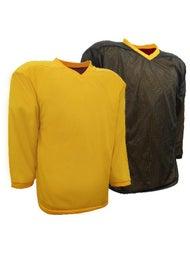 quality design 74676 27bb5 K1 Reversible Hockey Jersey - Gold/Black - Ice Warehouse
