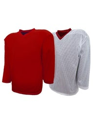 best sneakers 63837 189d1 K1 Reversible Hockey Jersey - Red/White - Ice Warehouse