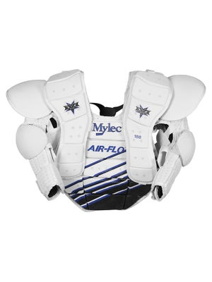 Mylec Air-Flo Goalie Chest Protectors Sr Wht/Bl
