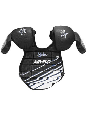 Mylec Air-Flo Goalie Chest Protectors Yth Blk/Bl