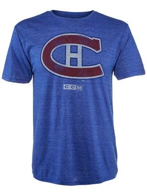 buy popular 93141 42eab Montreal Canadiens CCM NHL Retro Logo Shirt Senior