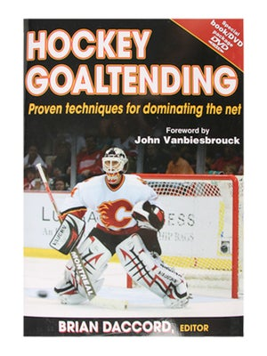 Hockey Goaltending Book w/ DVD