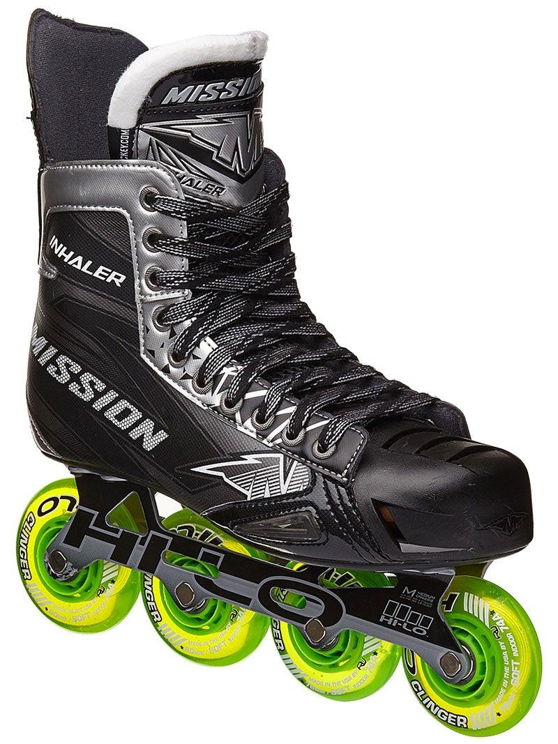 Mission INHALER NLS:04 Senior  Inline Hockey Skates Inlineskating-Artikel