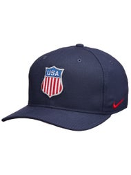 9d8bcffe7e1b Nike USA Hockey 2018 Olympic Mesh Swoosh Flex Hat Jr - Ice Warehouse