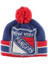 New York Rangers CCM Cuffed Pom Knit NHL Beanie
